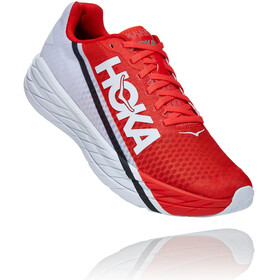 Hoka One One Rocket X Shoes fiesta/black